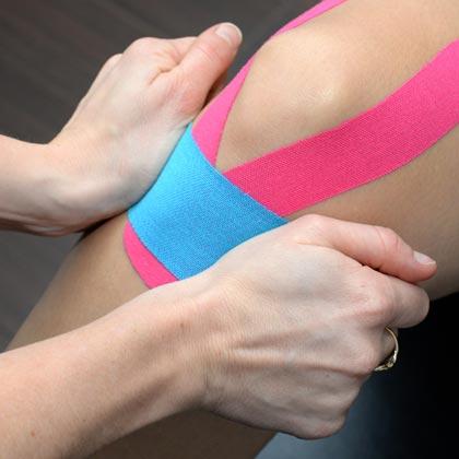 Kinesiotaping, Taping neuroproprioceptif, taping sportif